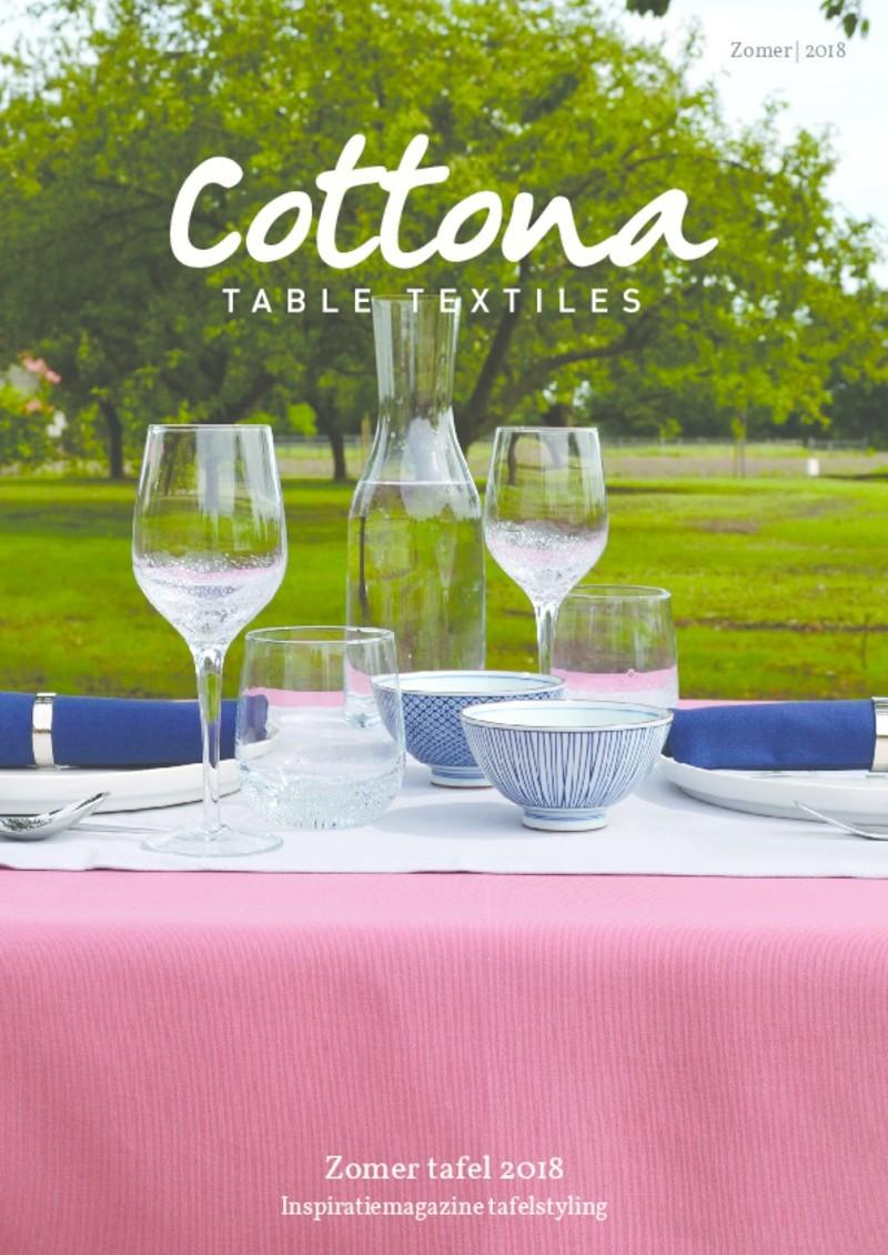 Cottona zomertafel magazine 2018