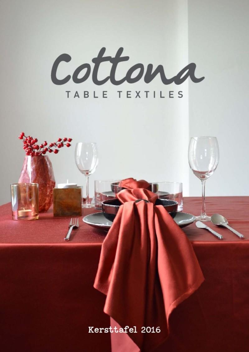 Cottona kersttafel magazine 2016