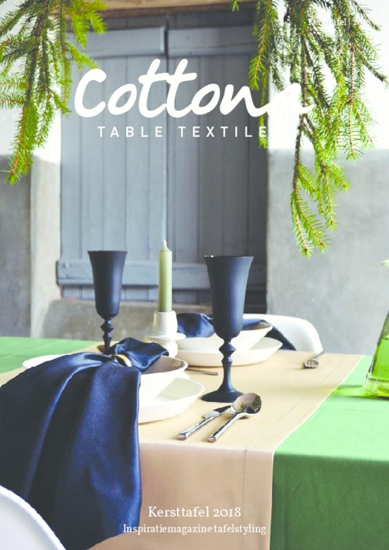 Cottona kersttafel magazine 2018