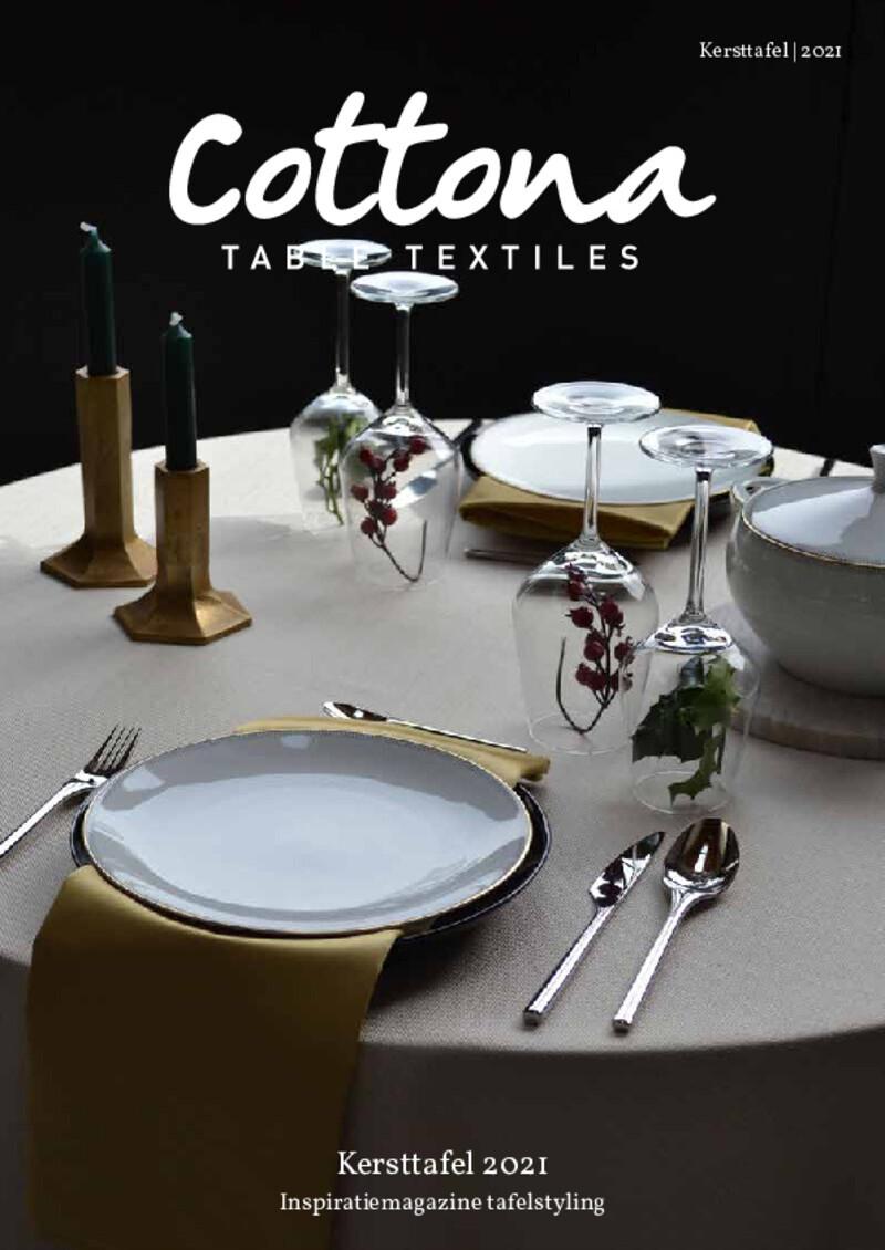 Cottona Kersttafel Magazine 2021 NL